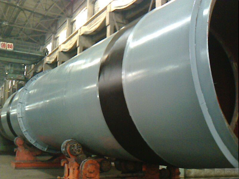 how does the rotary kiln operate