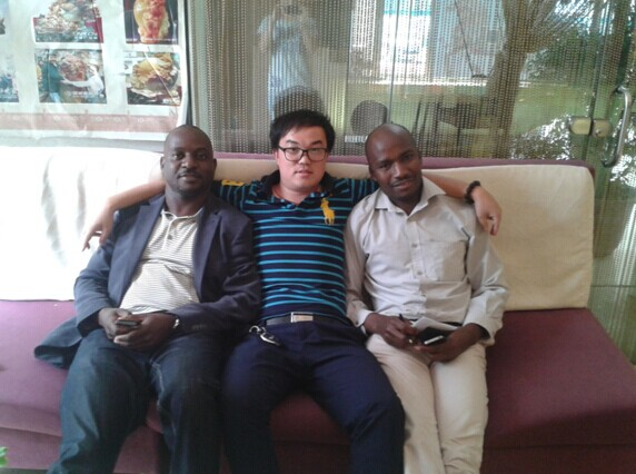 zibabwe customer's visit